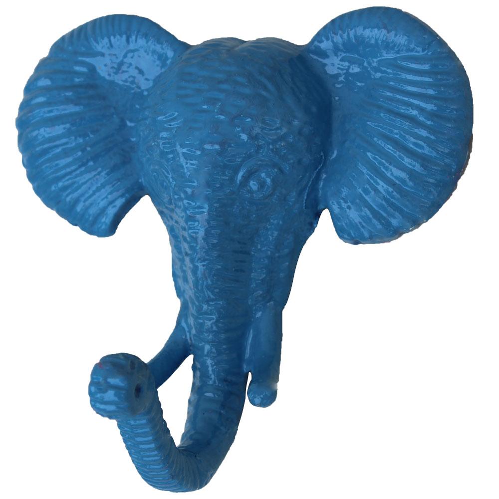 Slate Blue Elephant Hooks