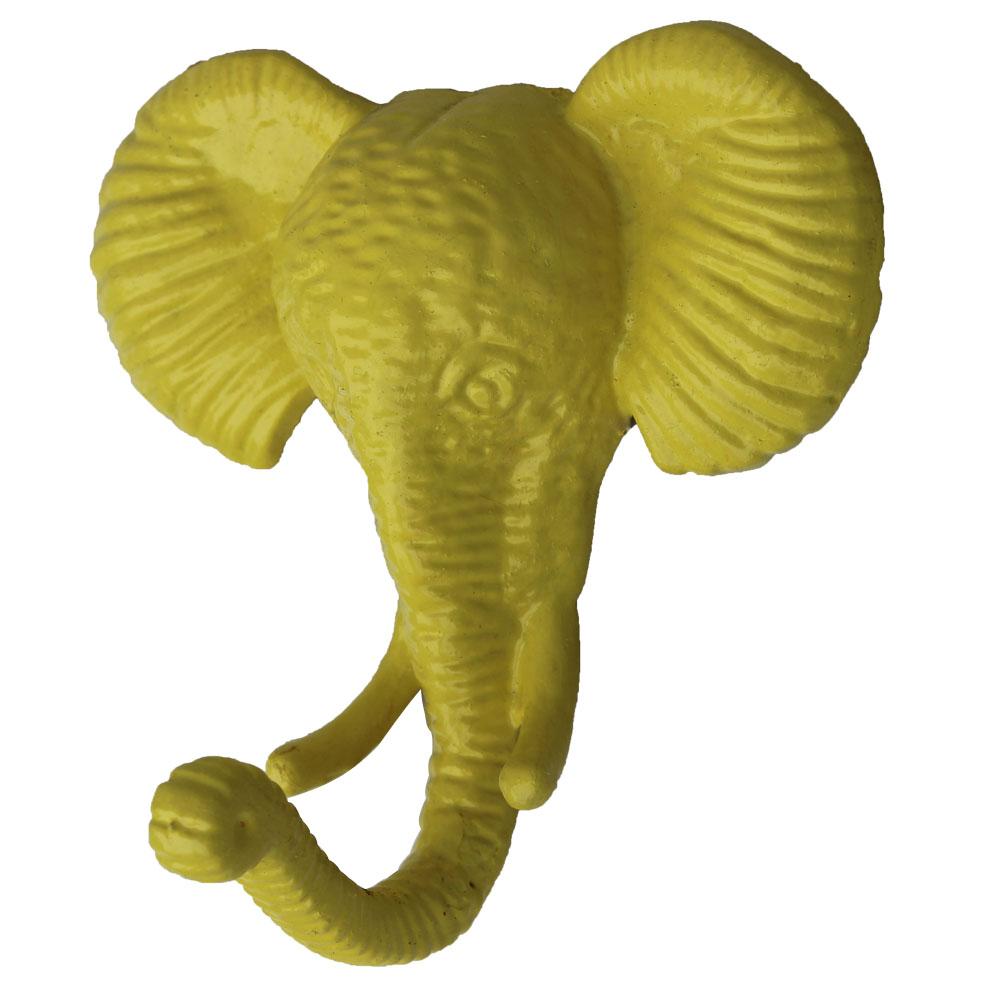 Yellow Elephant Hooks