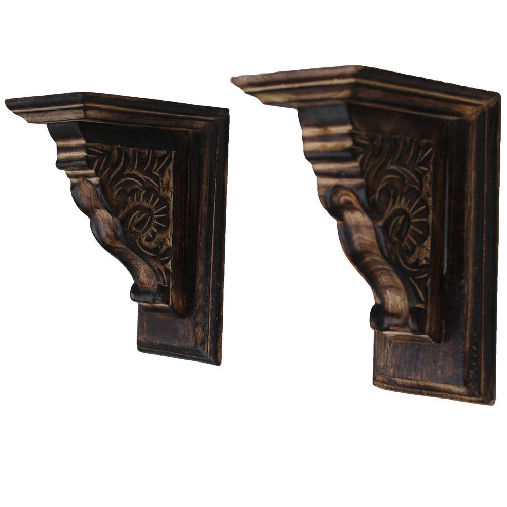 Wooden Small Wall Bracket