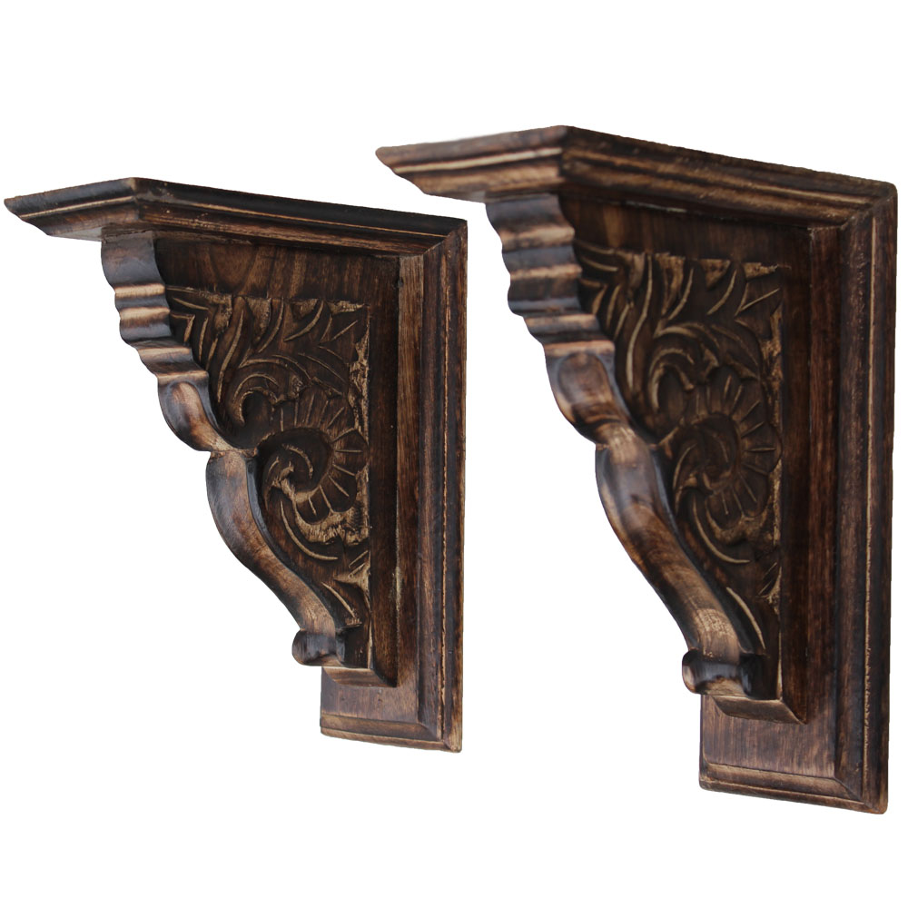 Wooden Medium Wall Bracket