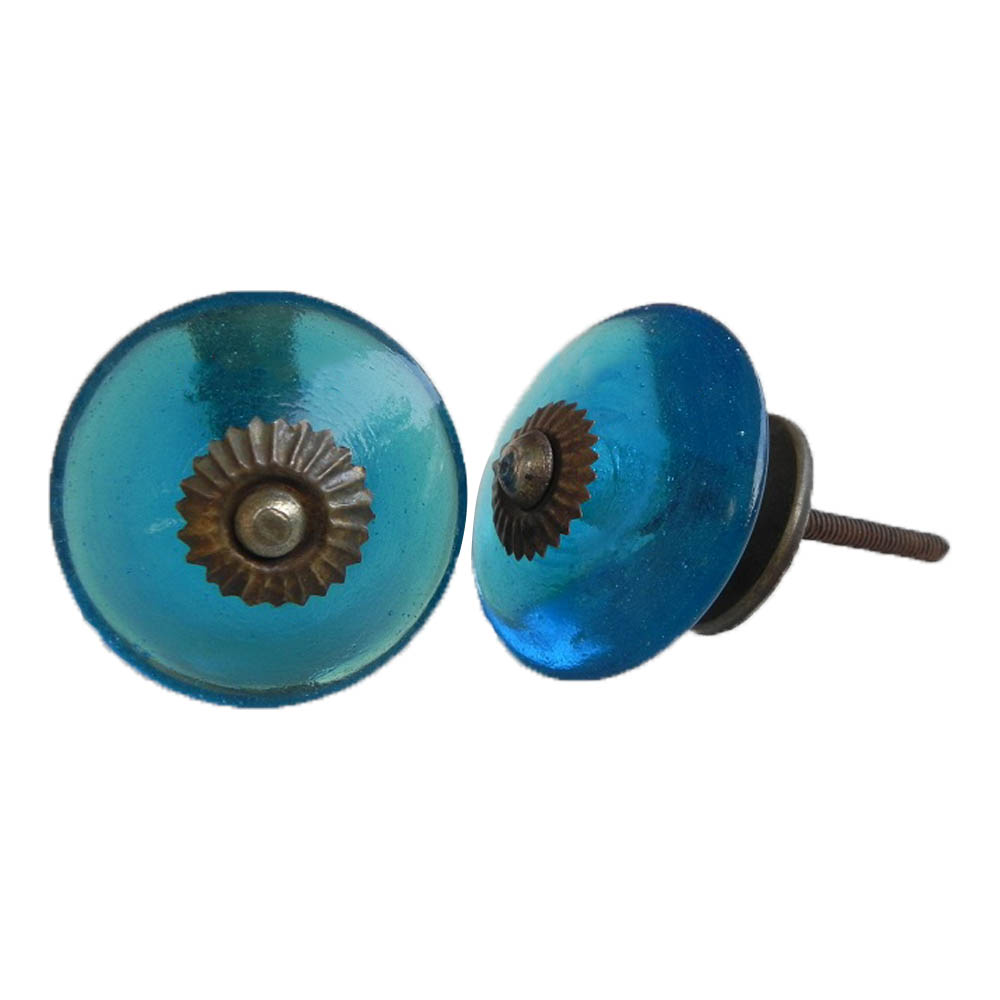 Royal Blue Wheel Knob