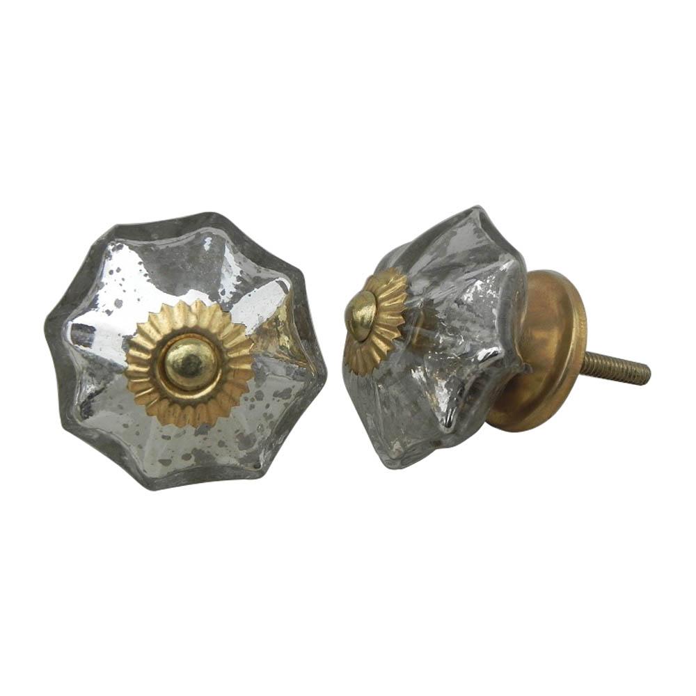 Antique Silver Knob
