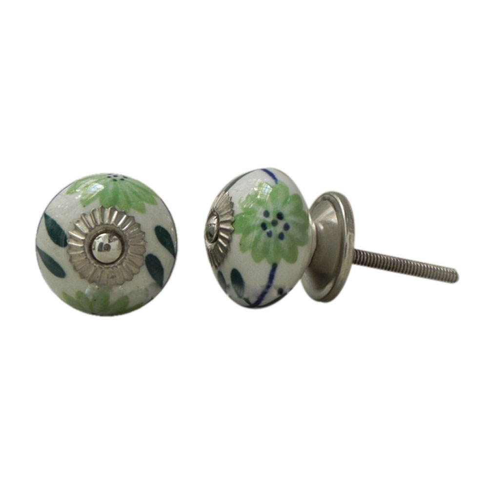 Anemone Ceramic Knob