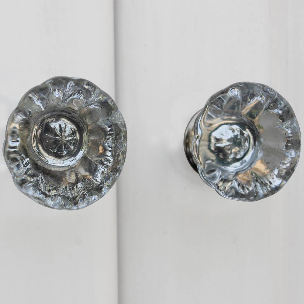 Paneled Sides Glass Drawer Knobs Online