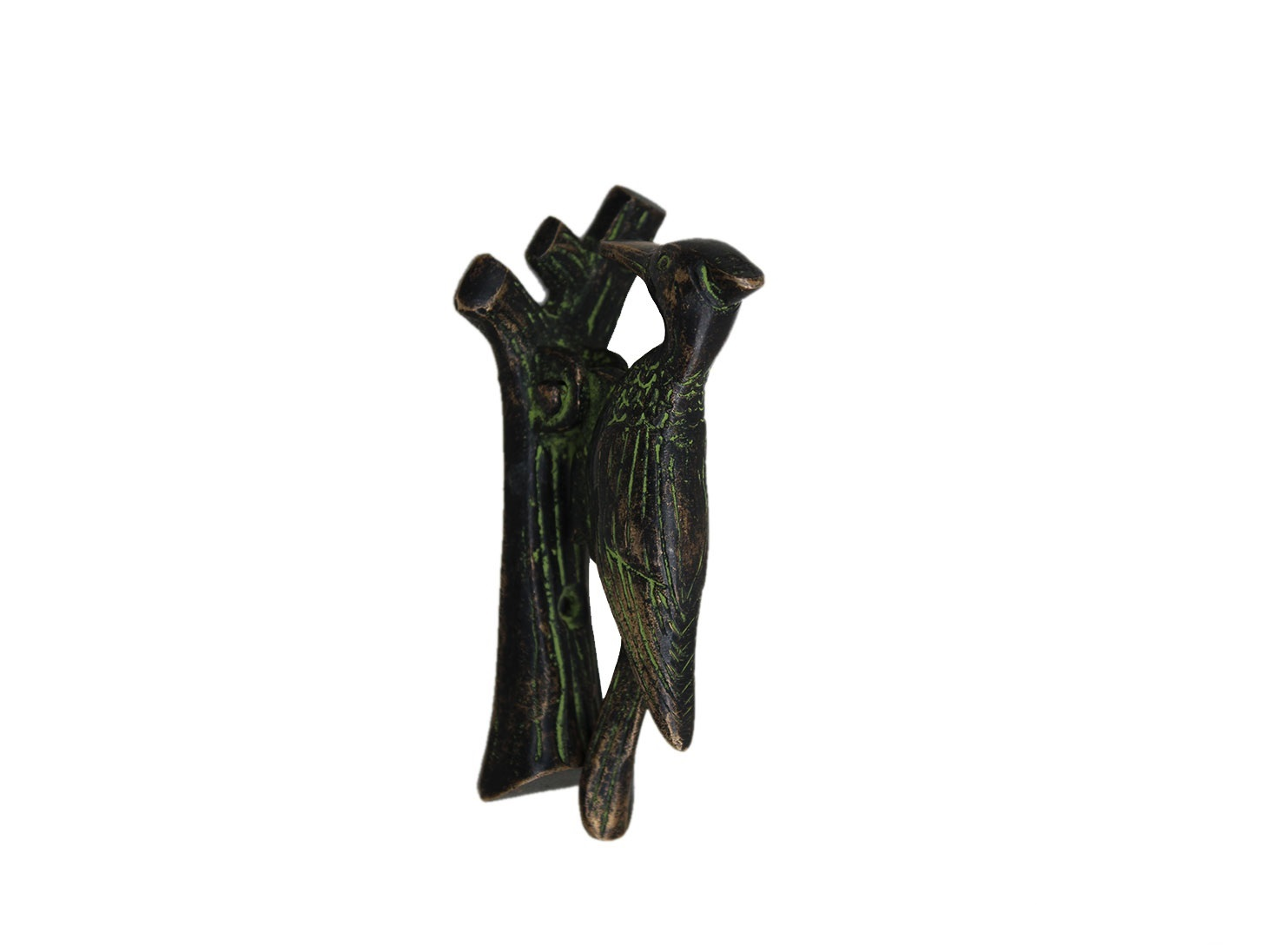 Antique Pileated Door Knocker