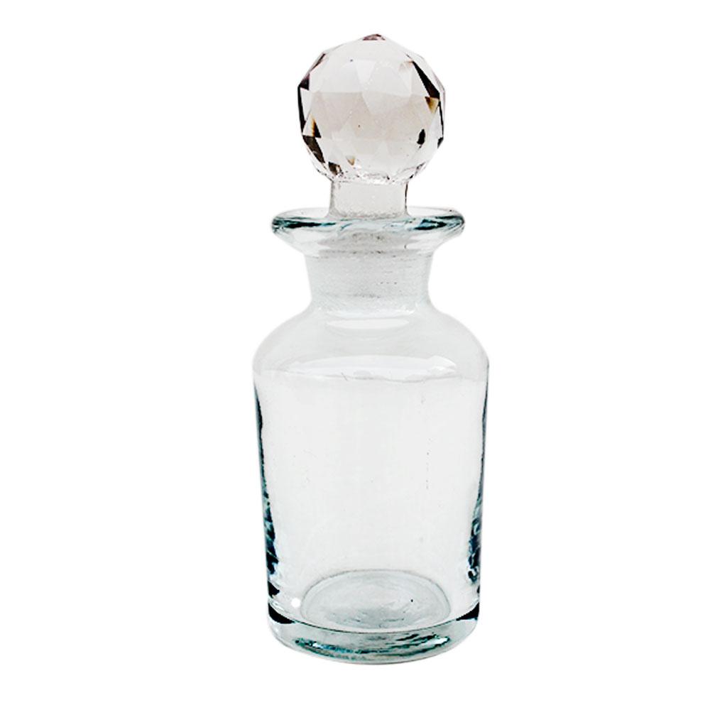 Oval Designer Glass Bottle