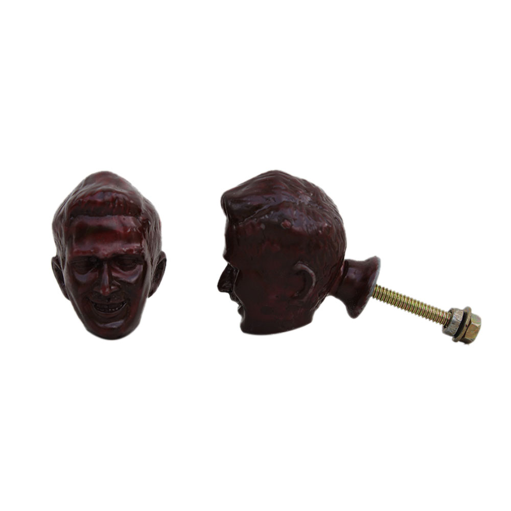 Chocolate Man Face Knob