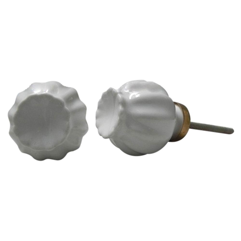 White Umbrella Knob