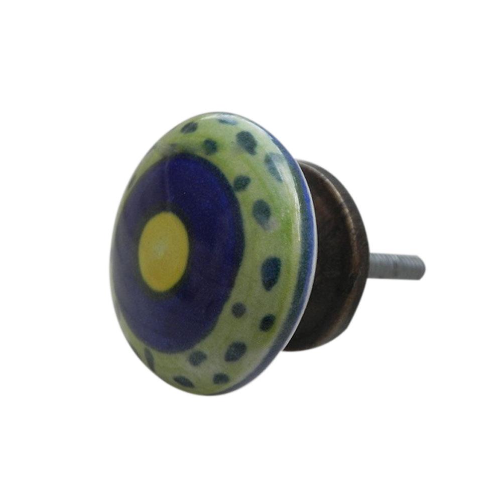 Small Dot Flat Knob