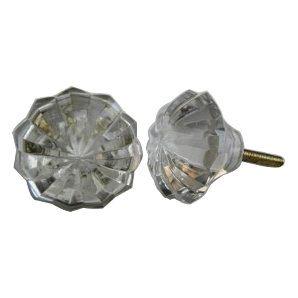 Clear Umbrella Knob, Large