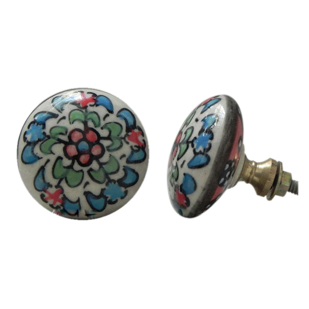 Three Color Leaf Knobs