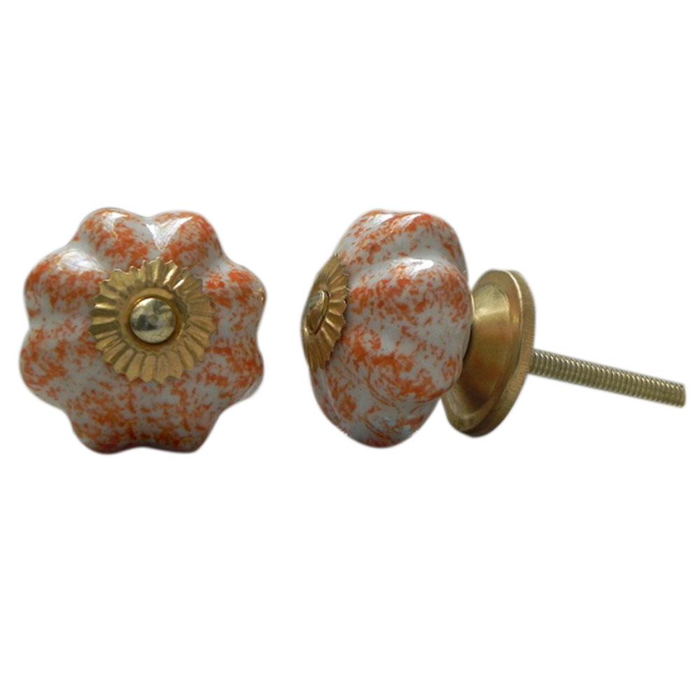 Sprinkled Ceramic Knob