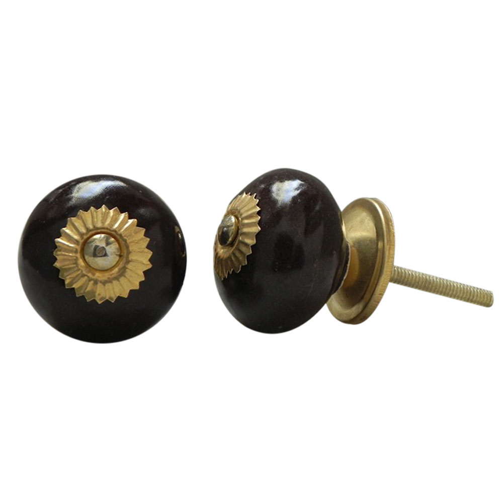 Dark Chocolate Knob