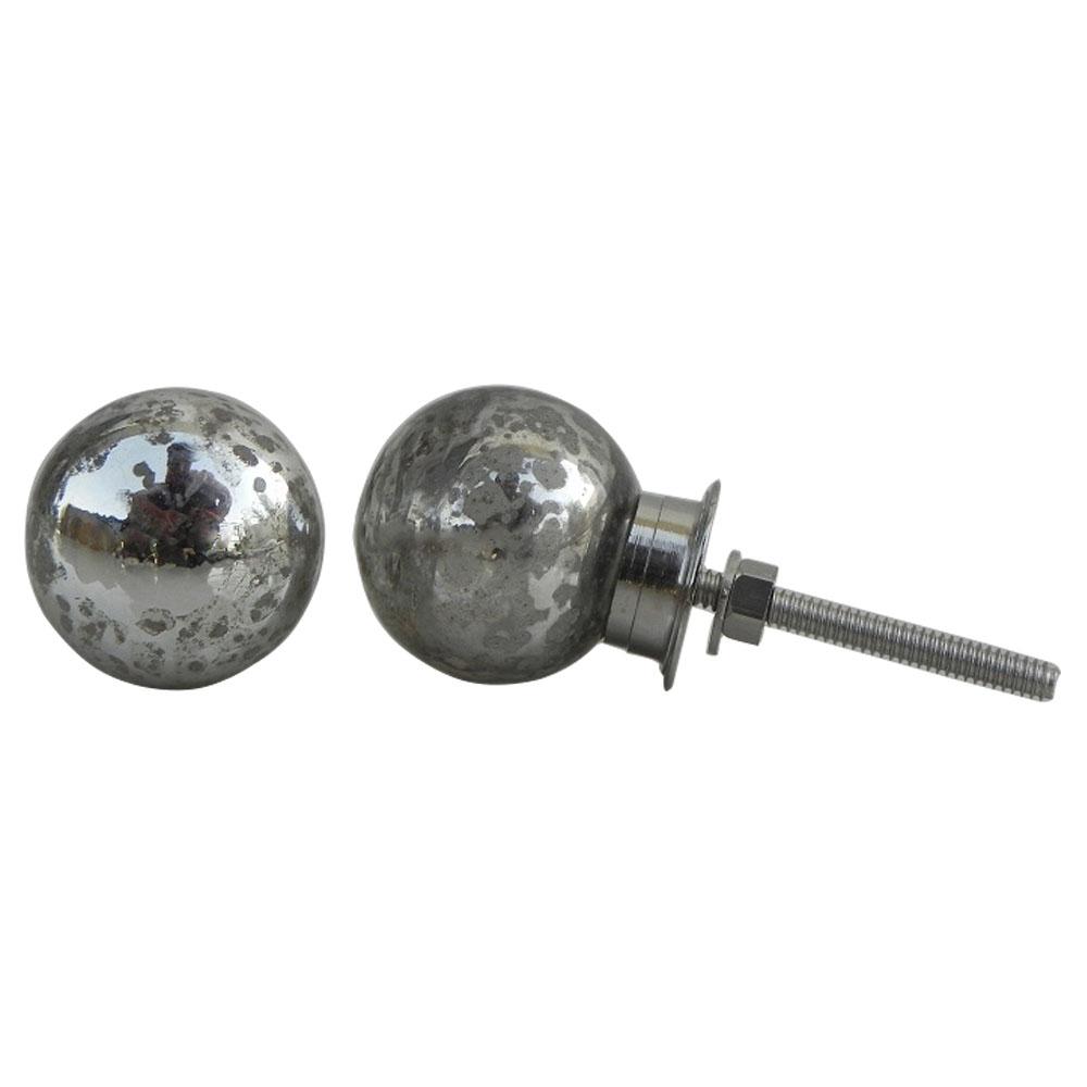 Mercury Round Knob