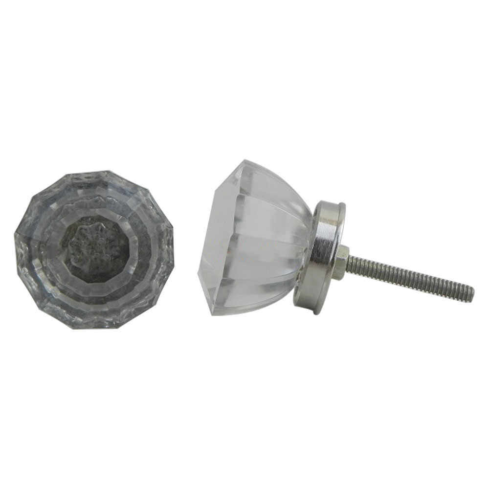Radiant Cut Small Cabinet Knob