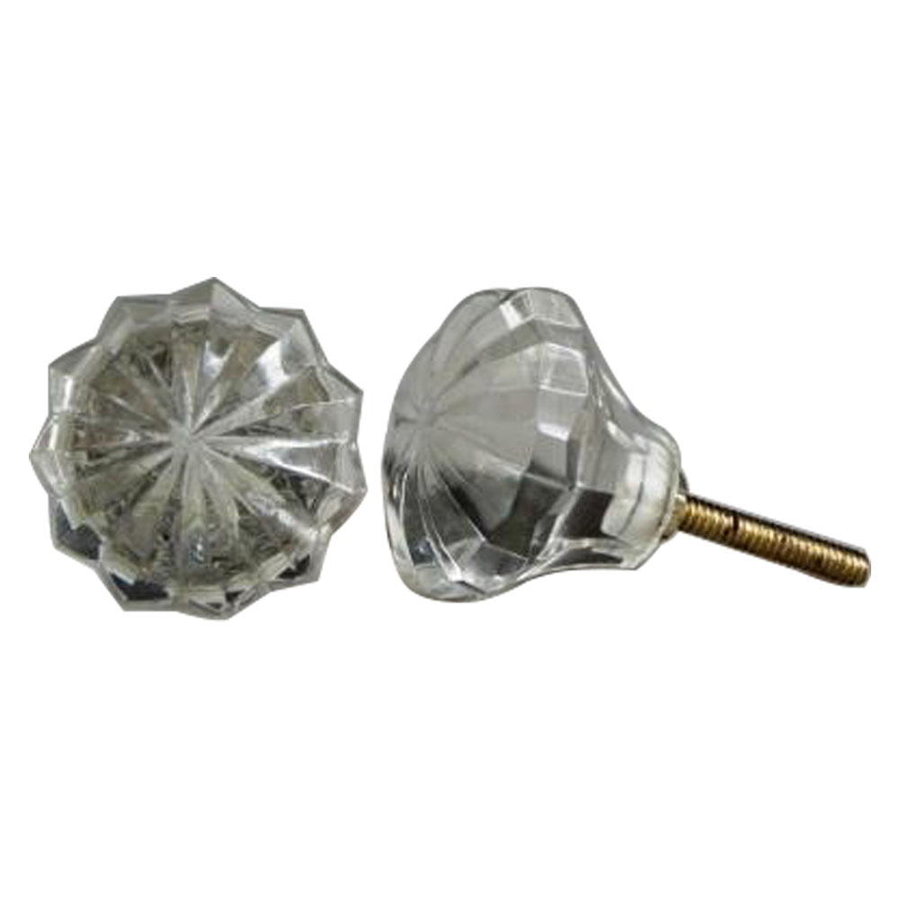 Clear Umbrella Knob, Small