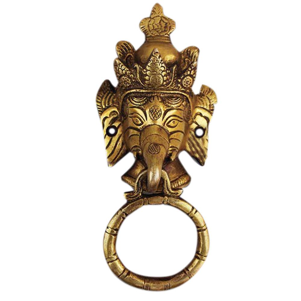 Ganesh Golden Door Knocker