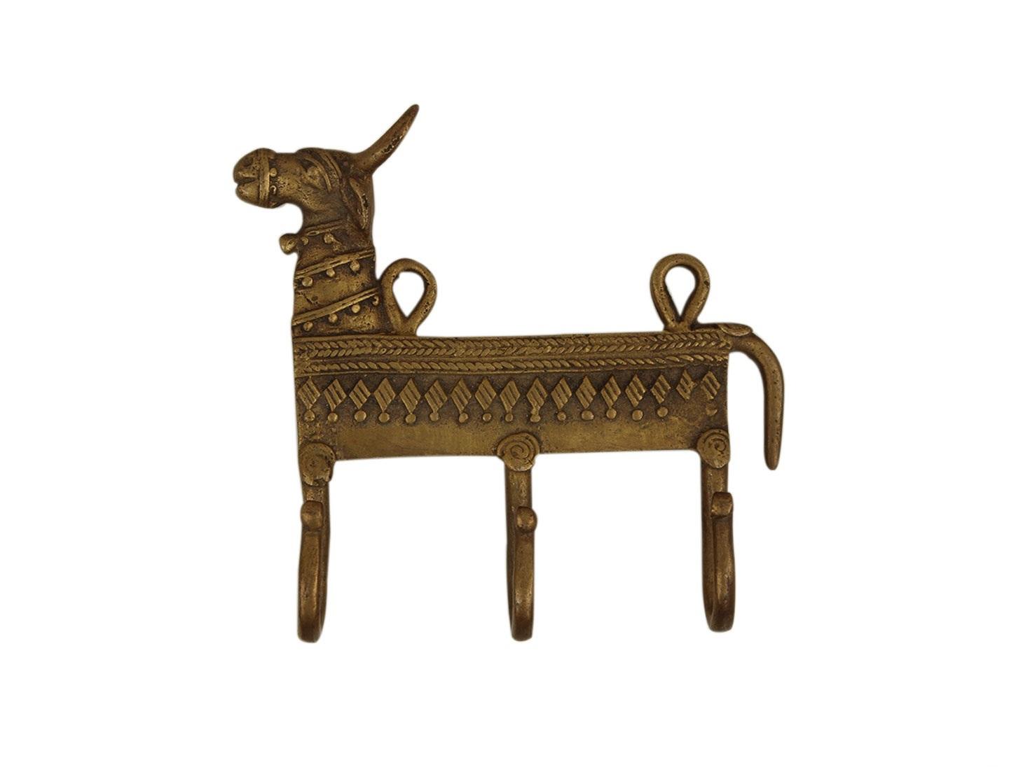 Bull Brass Hooks