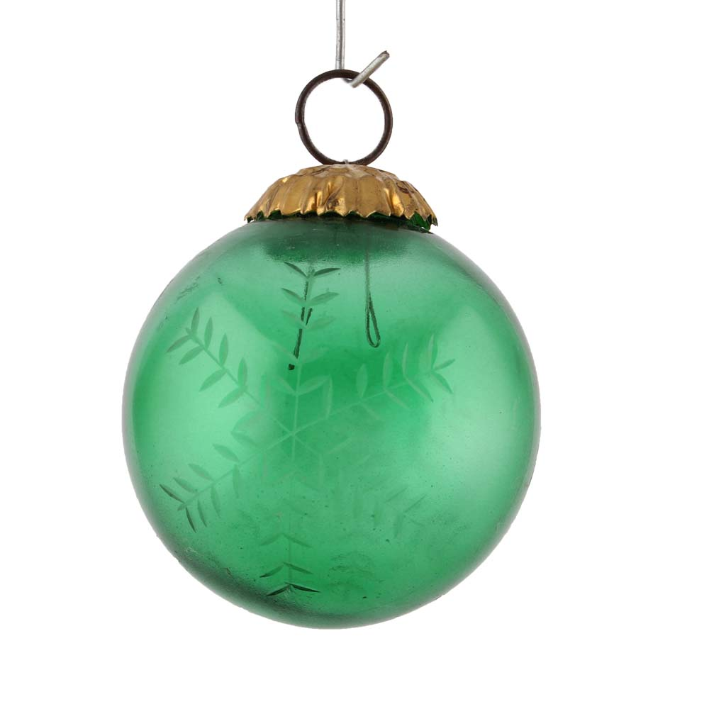Green Round Leaf Christmas Hanging