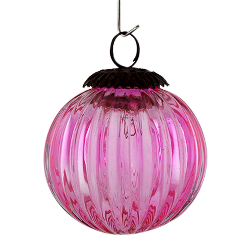 Pink Solid Melon Christmas Hanging