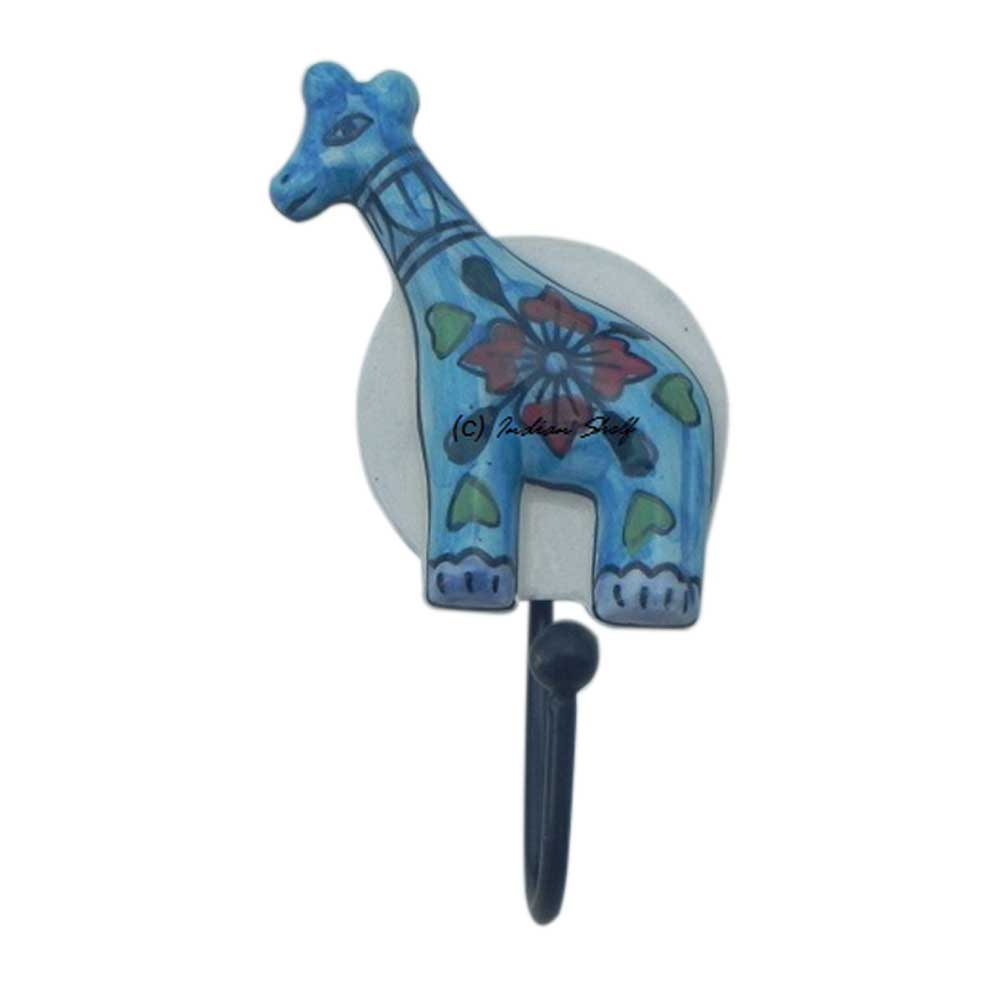 Giraffe Ceramic Hooks