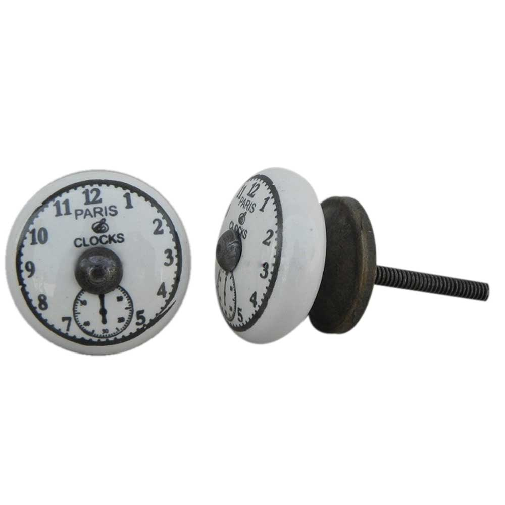 Paris Clocks Small Knob