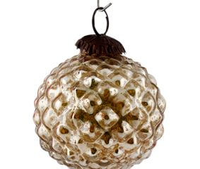 Antique Solid Custard Apple Christmas Hanging