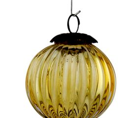 Yellow Solid Melon Christmas Hanging Online