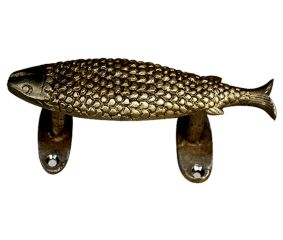 Brass Fish Handle 6