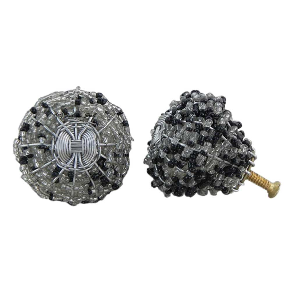 Glass Bead Wire Knobs