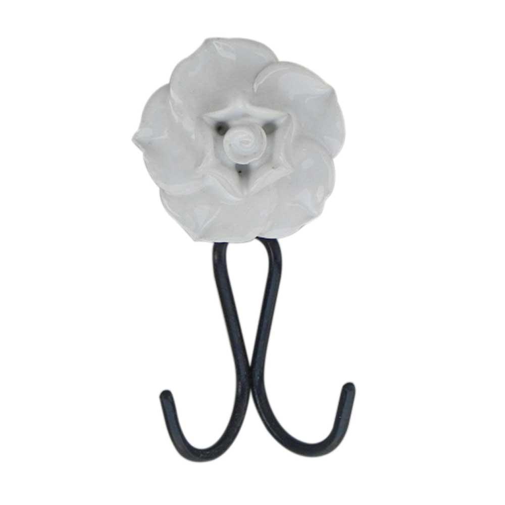 White Rose Hooks