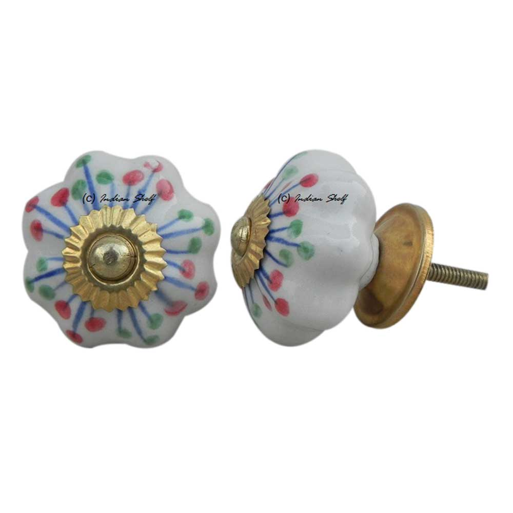 Mixed Dot Melon Knob