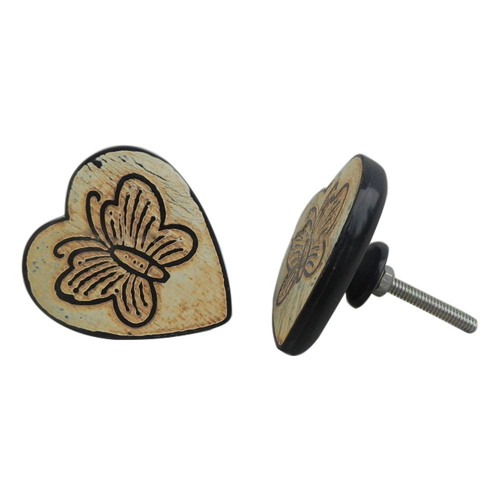 Butterfly Horn Knob