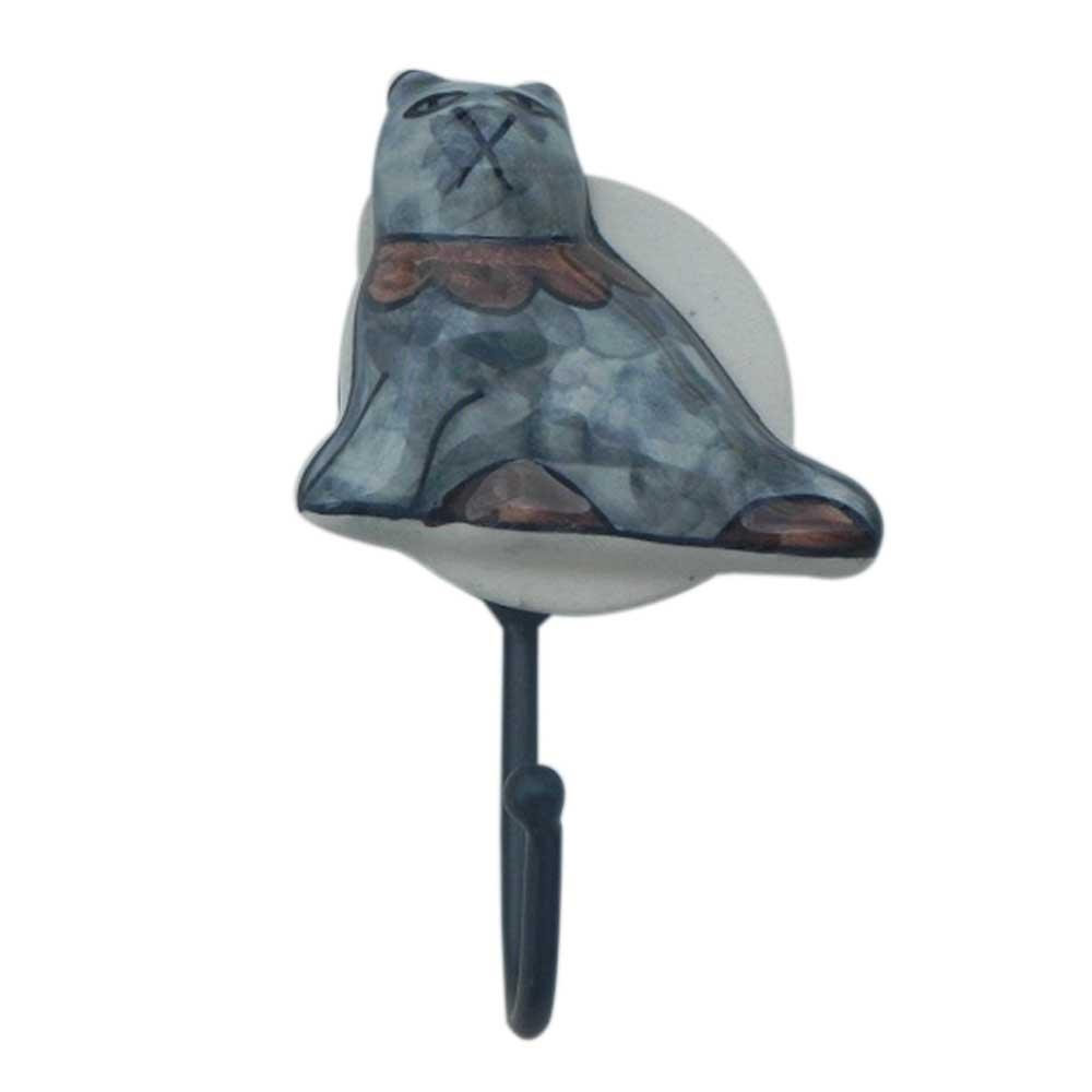 Cat Ceramic Hooks