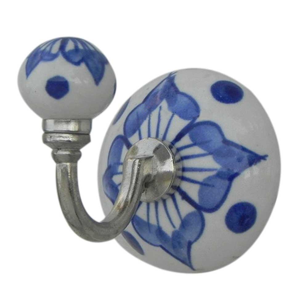 Blue Flower Hooks