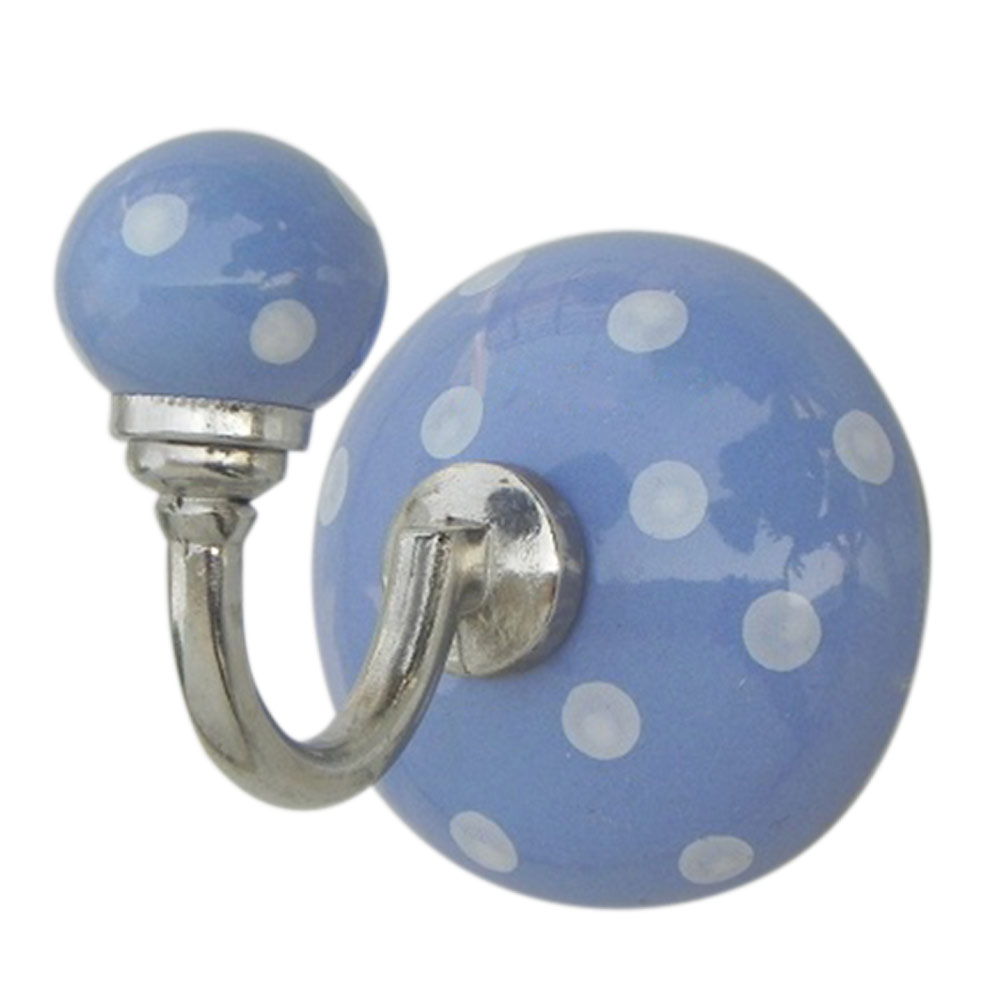 Slate Blue Dotted Hooks