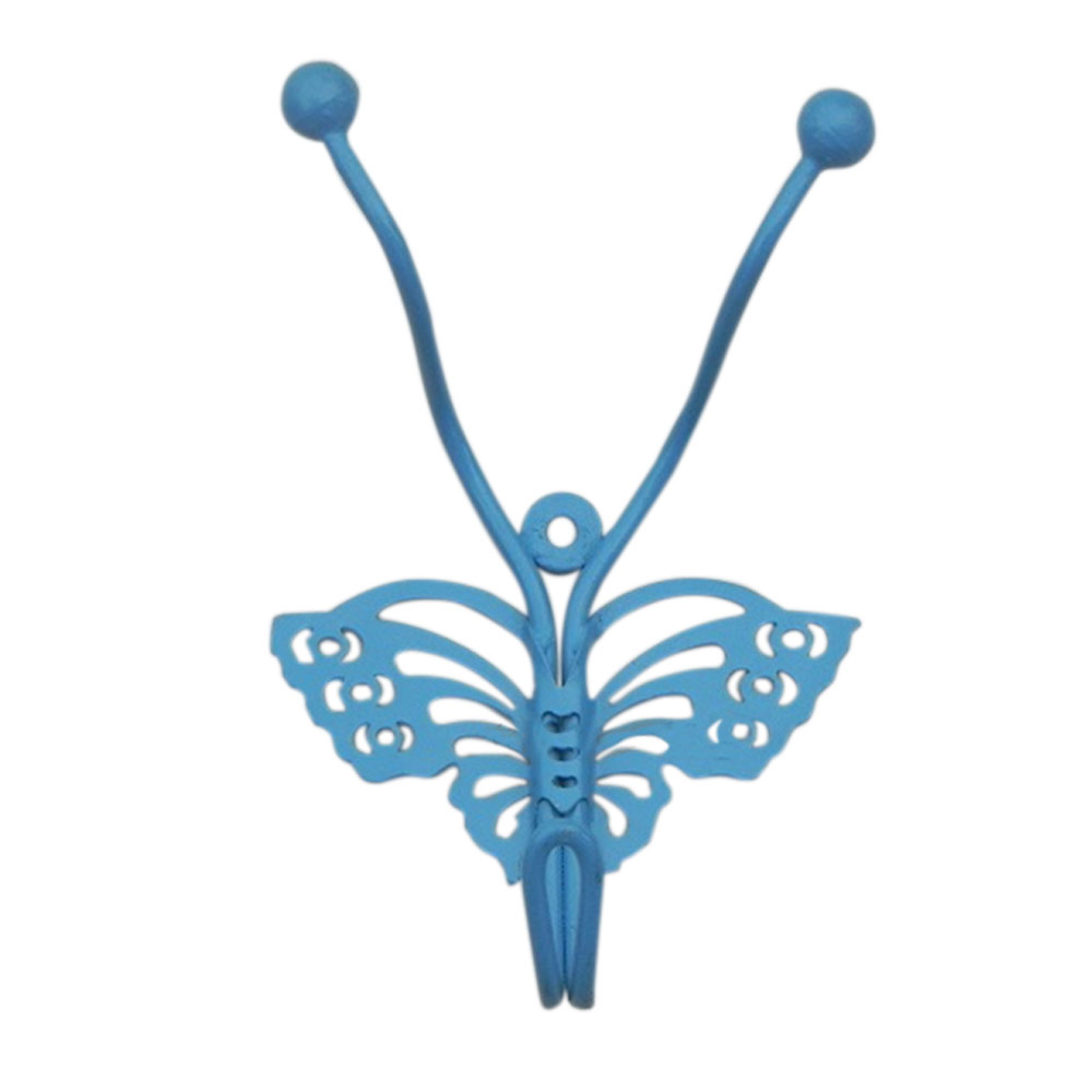 Turquoise Butterfly Hooks