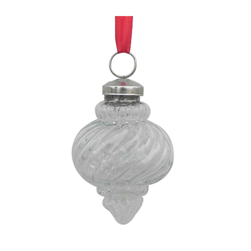 Clear Dome Christmas Hanging