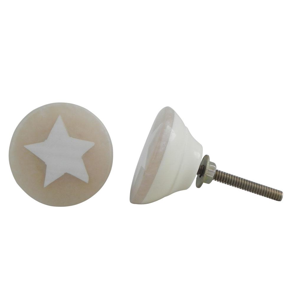 Star Bone Knob