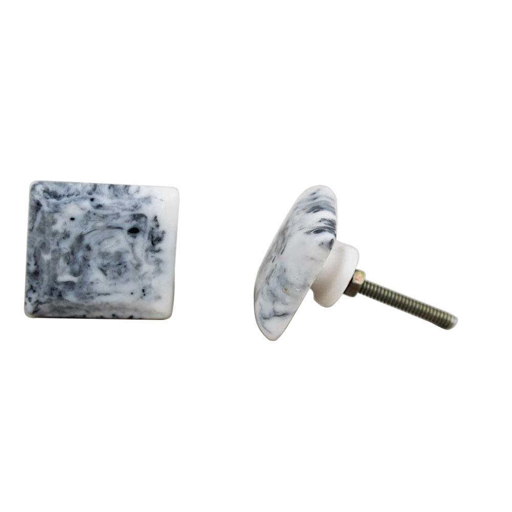 Marble Resin Knob