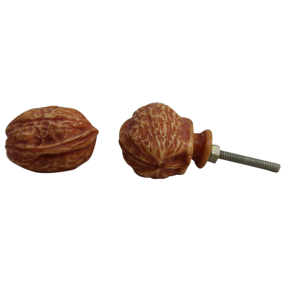 Walnut Resin Knob