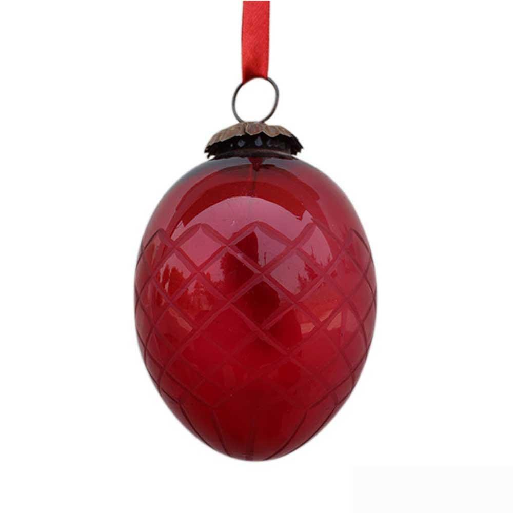 Red Avocado Box Cut Christmas Hanging