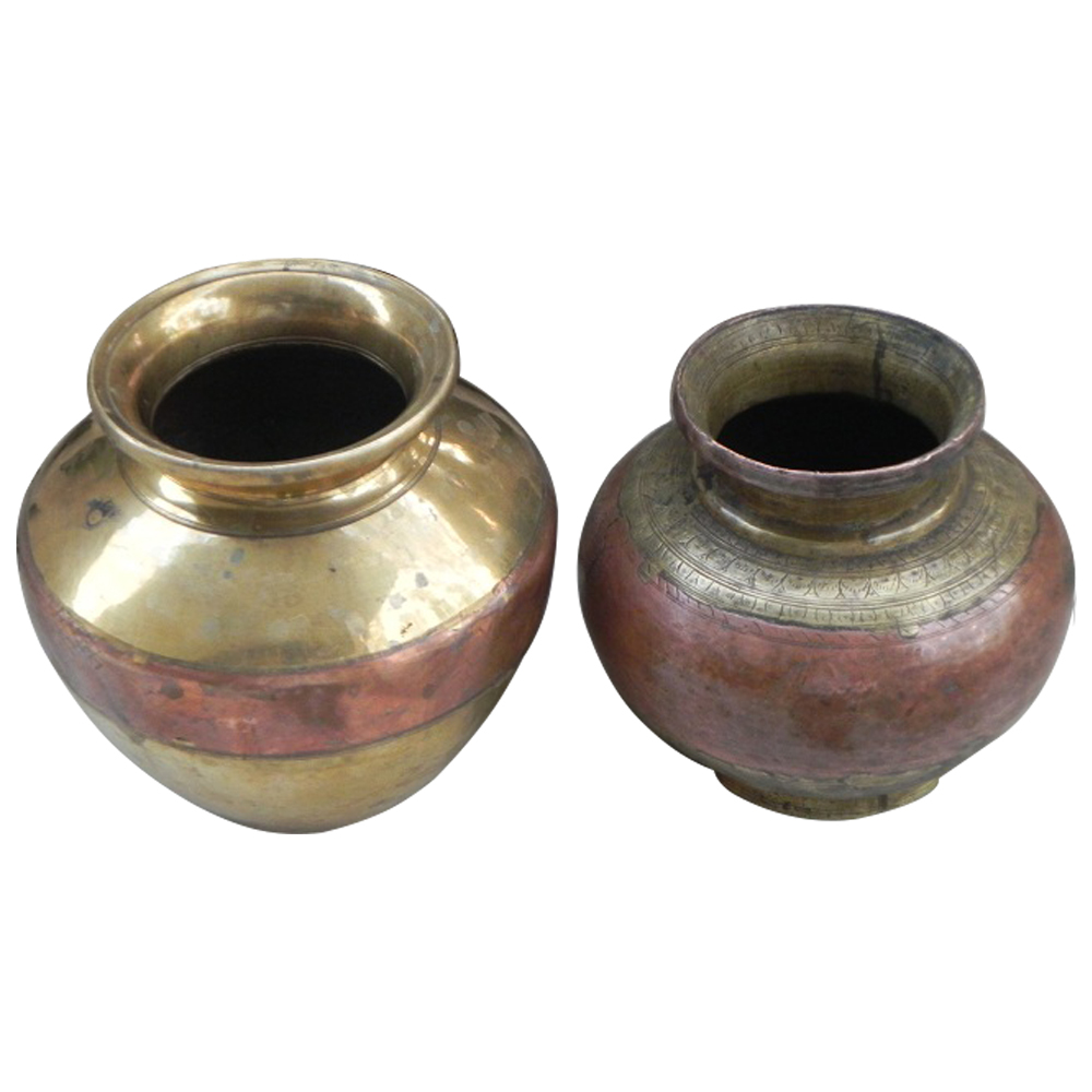Ganga Jamuna Water Pots Set of 2