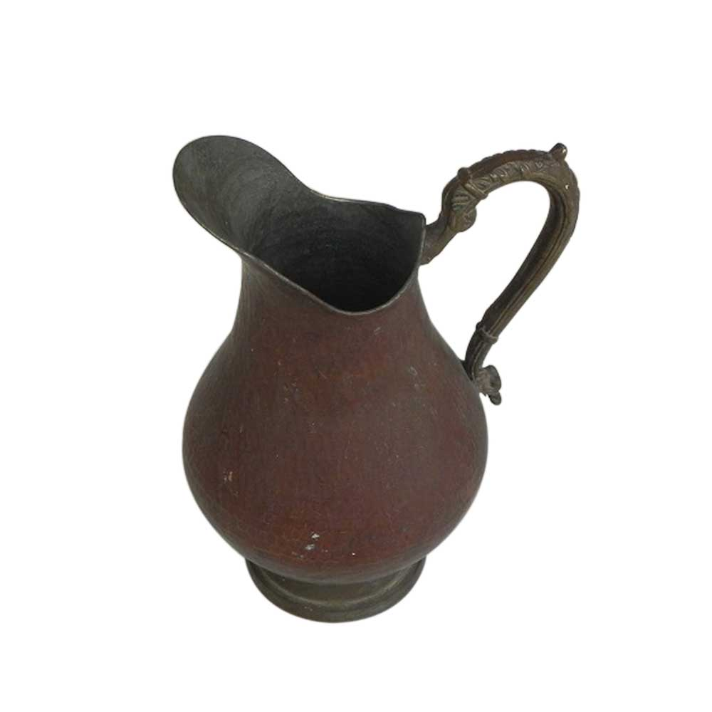 Vintage Solid Pure Copper Engraved Water Jug