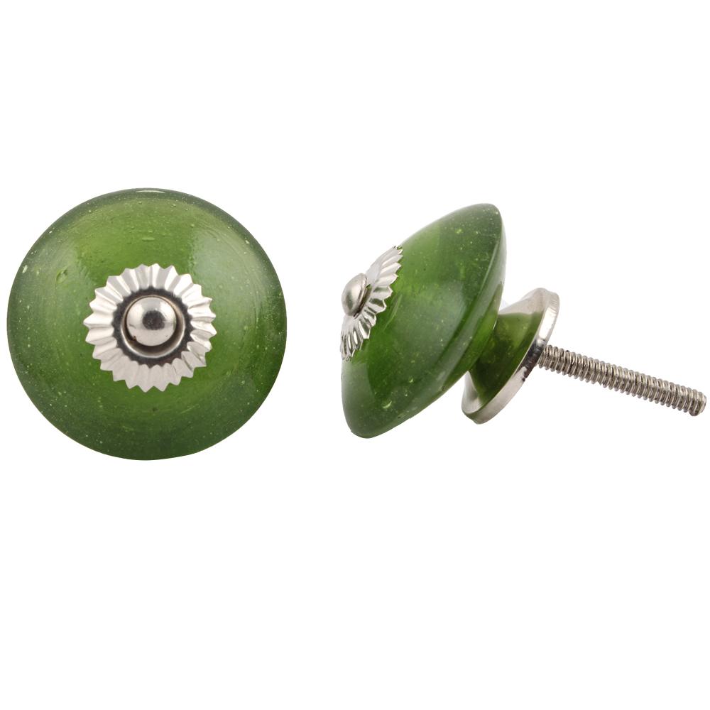Olive Drab Wheel Knob