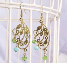 Indo-Western Gold Plated Earring