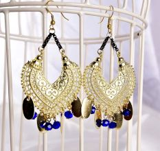 Indian Style Elegant Chandelier Designer Earrings