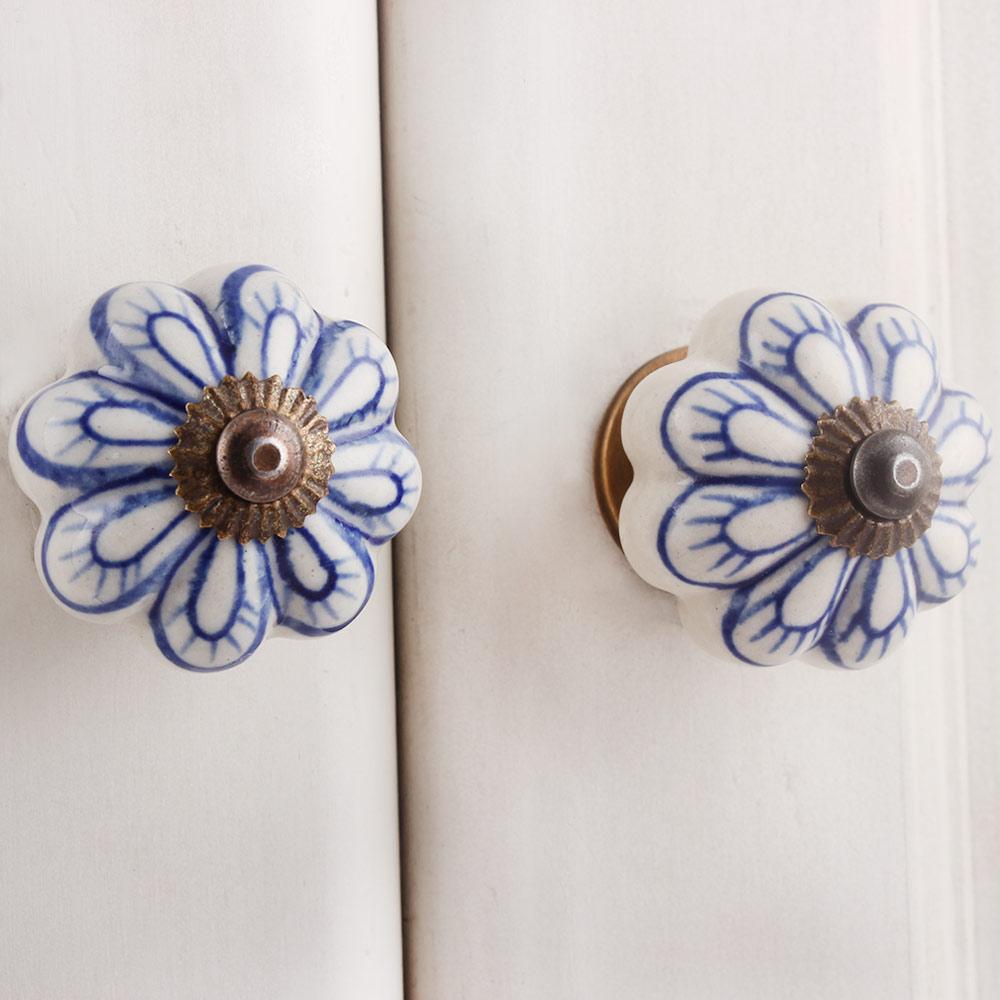 Blue Bug Medium Knob