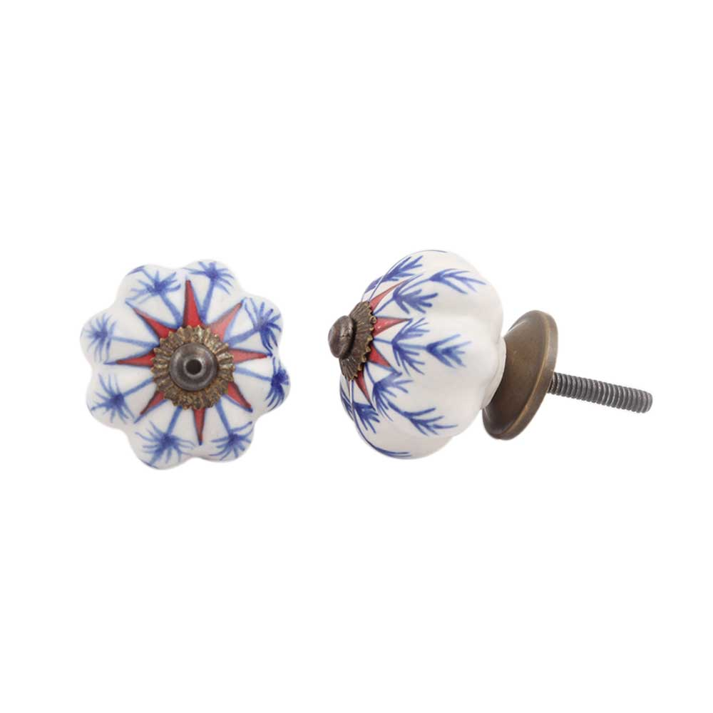 Red Star Medium Knob
