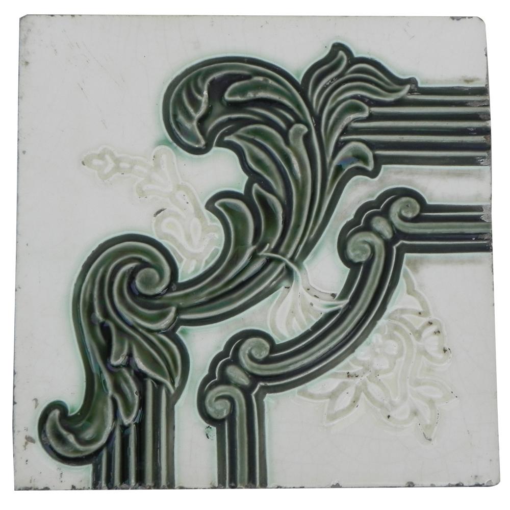 Green Leaf Tile -2